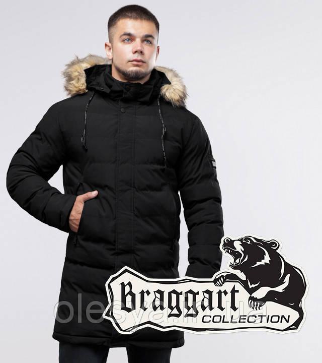 Braggart Youth | Зимняя куртка 25010 черная