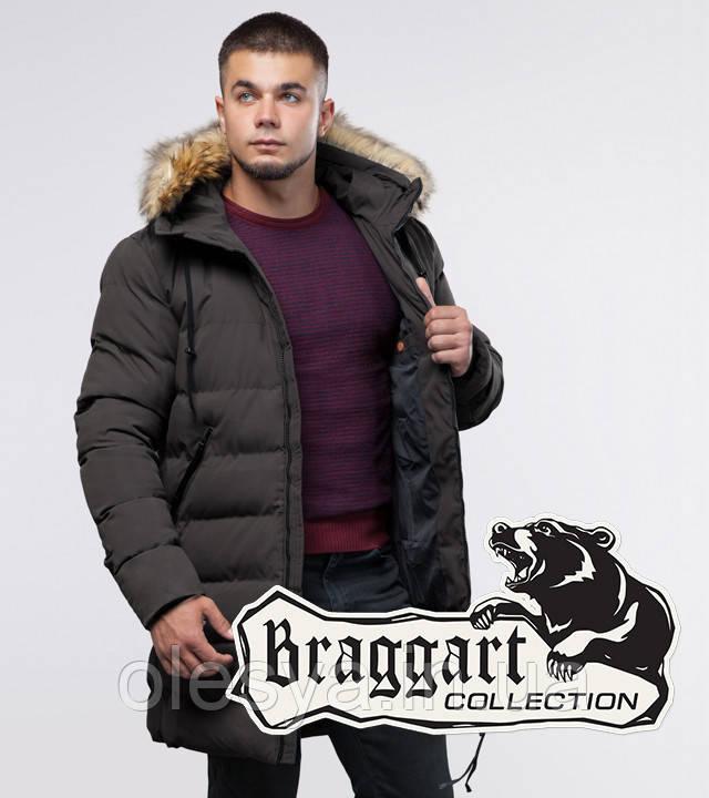Braggart Youth | Зимняя куртка 25130 кофе