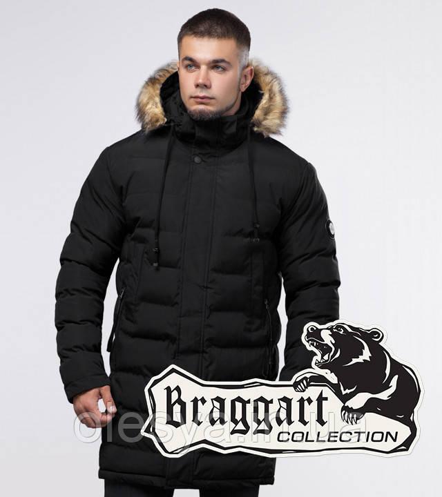 Braggart Youth | Зимняя куртка 25050 черная