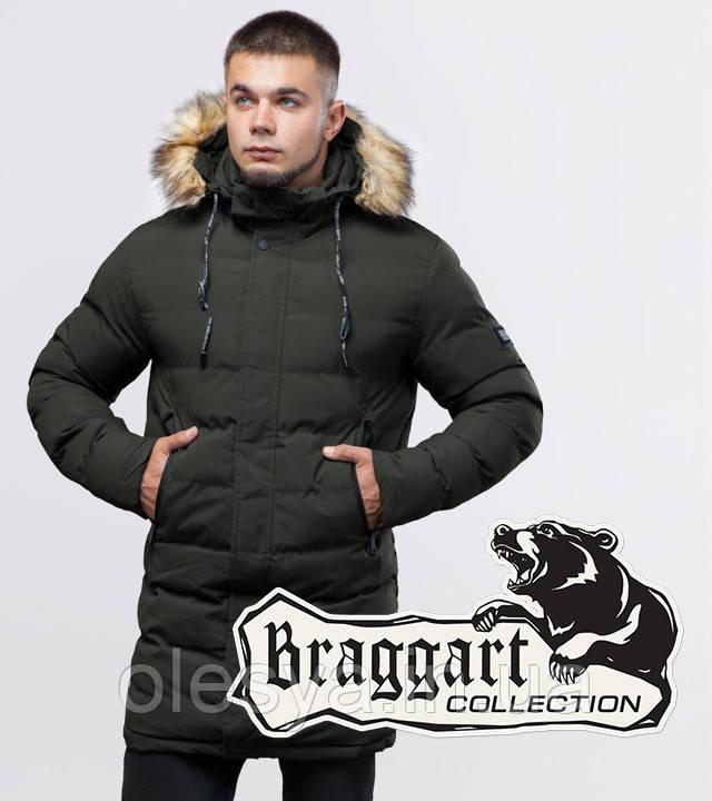 Braggart Youth | Зимняя куртка 25010 темно-зеленая