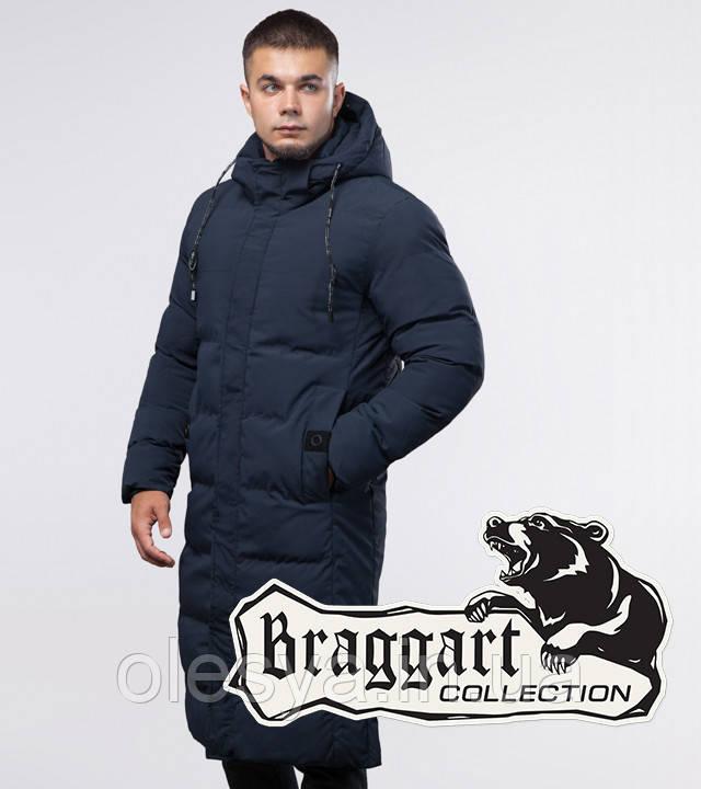 Braggart Youth | Куртка зимняя 25360 темно-синяя