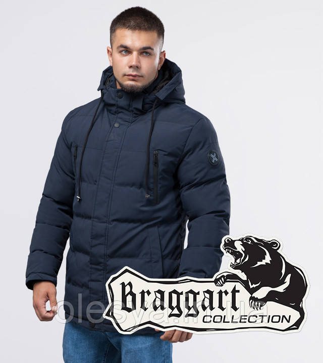 Braggart Youth | Куртка зимняя 25000 темно-синяя