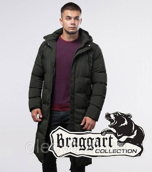 Braggart Youth | Зимняя куртка 25360 темно-зеленая