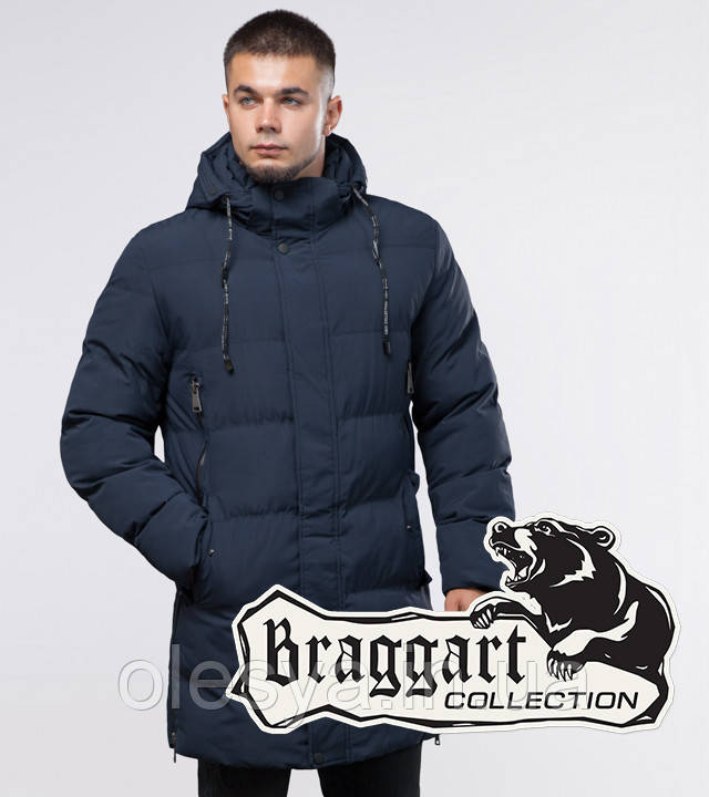 Braggart Youth   Куртка зимняя 25040 темно-синяя