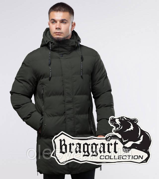 Braggart Youth | Зимняя куртка 25040 темно-зеленая