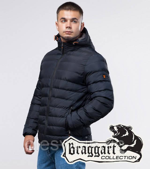 Braggart Youth |  Зимняя куртка молодежная 25580 темно-синяя
