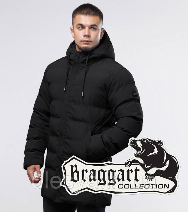 Braggart Youth | Зимняя куртка 25080 черная