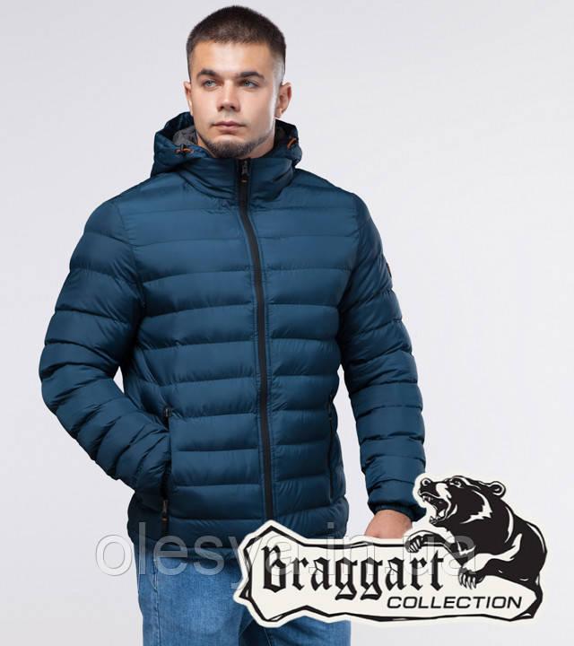 Braggart Youth   Молодежная зимняя куртка 25580 темно-бирюзовая