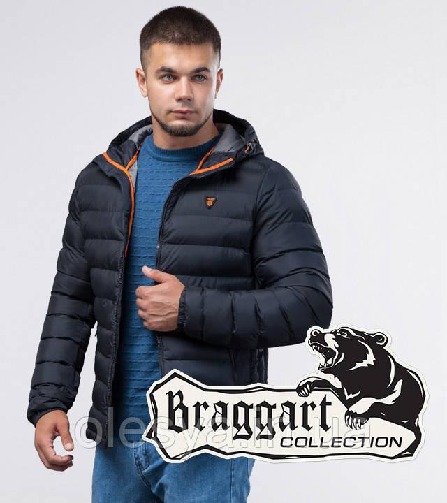 Braggart Youth | Зимняя молодежная куртка 25600 темно-синяя