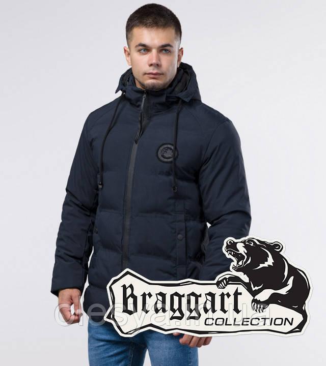Braggart Youth | Зимняя куртка молодежная 25440 синяя
