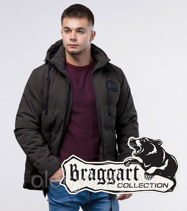 Braggart Youth | Молодежная куртка зимняя 13-25 лет 25440 кофе