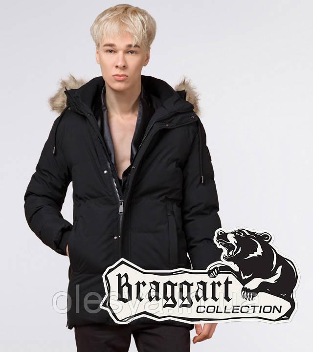Braggart Youth | Куртка зимняя молодежная 25090 черная