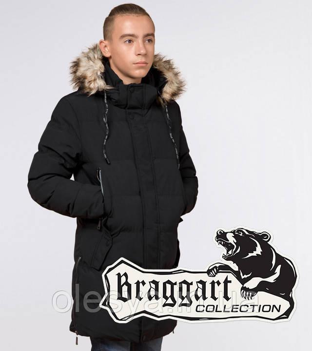 Braggart Youth | Куртка зимняя молодежная 25170 черная