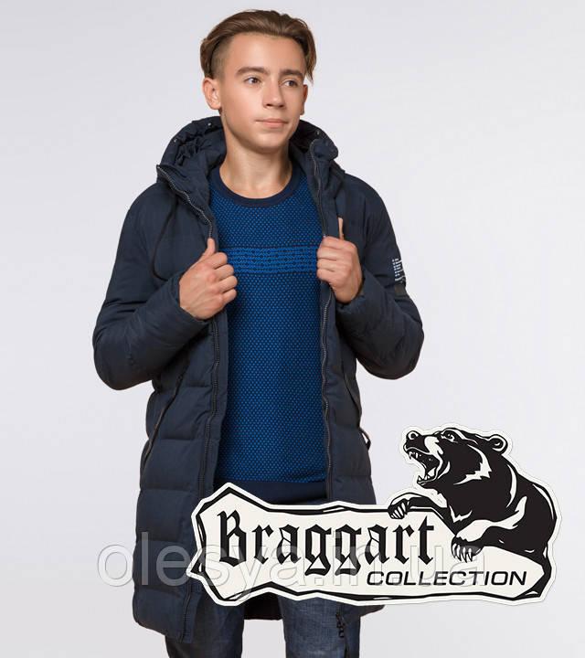 Braggart Youth | Куртка зимняя молодежная 25240 синяя