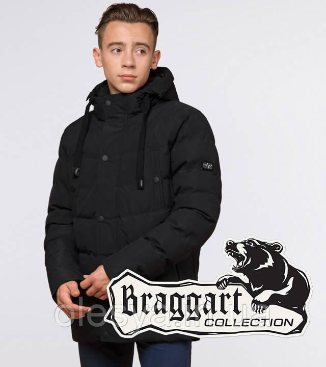 Braggart Youth   Куртка зимняя молодежная 25480 черная