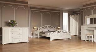 Спальня з натурального дерева Ріана Скіф