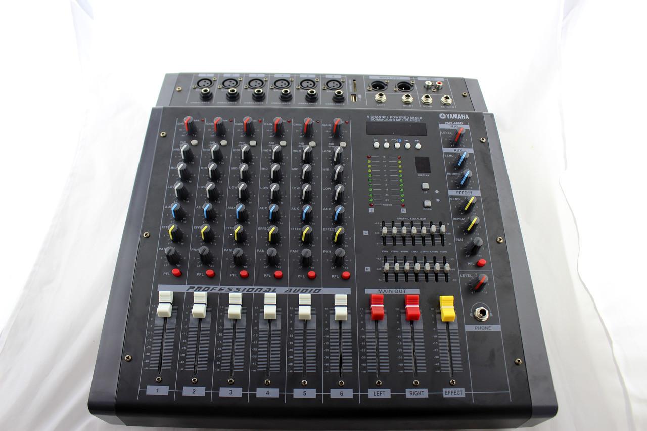 Аудио микшер Mixer BT 608D (2)