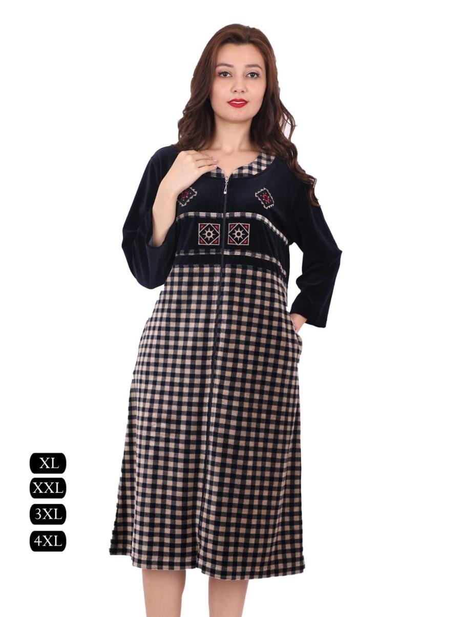 367389f0a7f1 Купить Велюровые халаты больших размеров продажа в интернет-магазине ...