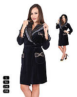 32446c637d2b6 Велюровый халат на запах в Украине. Сравнить цены, купить ...