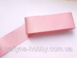 Стрічка репсова широка, 50 мм, рожева № 19. Туреччина