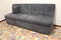 Прямий диван зі спальним місцем у вузьку кухню (Сірий), фото 1
