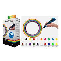 Набір пластику для 3D-ручки Polaroid PLA Play и Fast Play 20 кольорів (PL-2500-00)