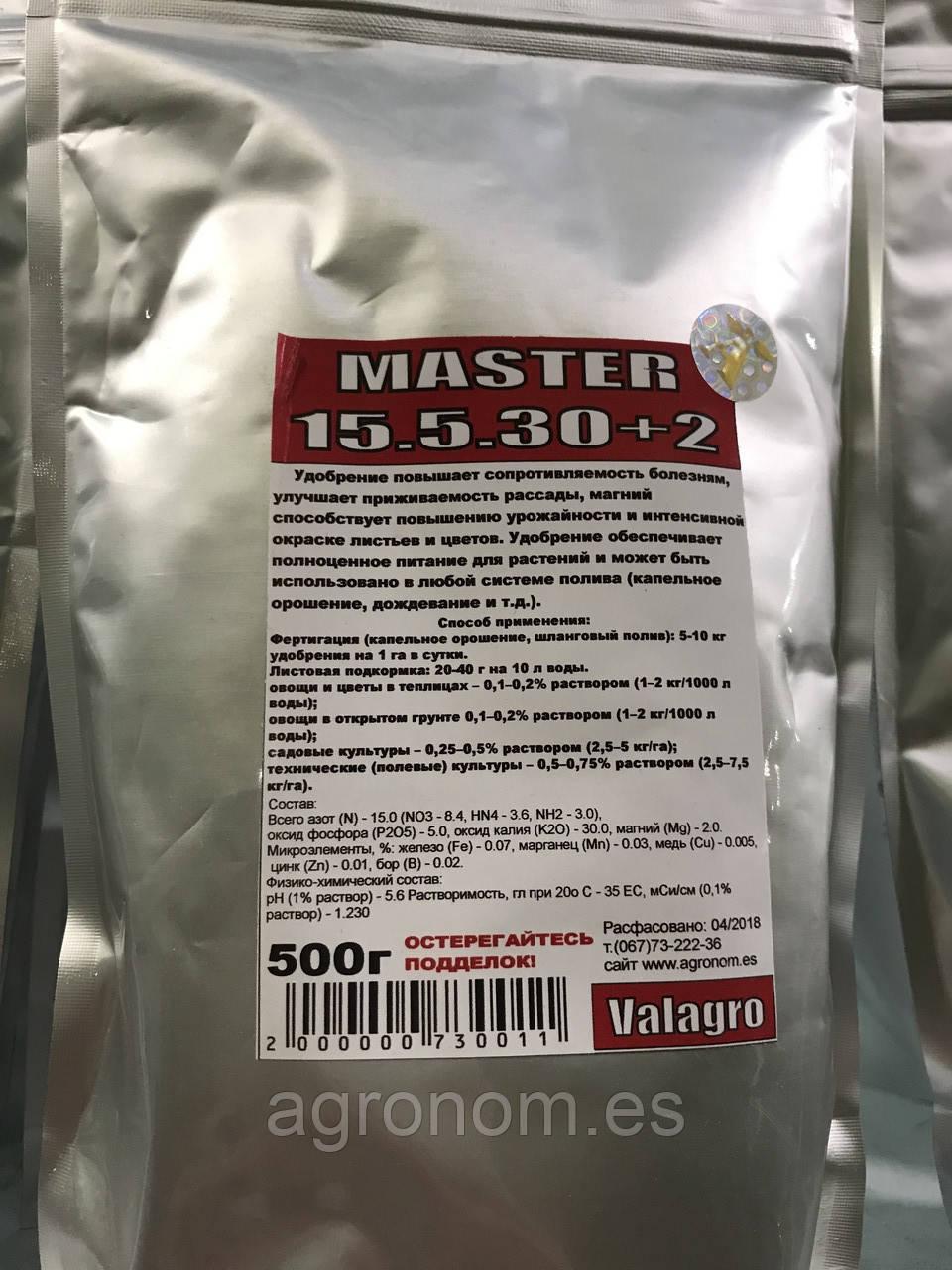 Мастер 15.5.30+2Mg, 0.5 кг
