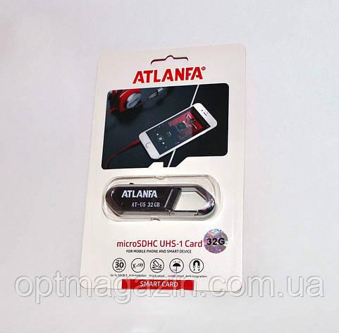 Флешка брелок 32Gb Атланфа. Флеш накопичувач Atlanfa 32GB AT-U5, фото 2