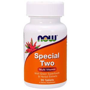 Витамины NOW Special Two 90 tabs, НАУ Спешл Ту 90 таблеток