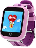 UWatch Q100s Kid smart watch Pink