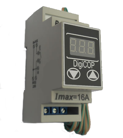 Терморегулятор МТР-2 - 16А DigiCop DIN рейка,электрооборудование для сада и дома,качество