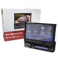Автомагнитола 1DIN DVD-712 с выездным экраном (5)