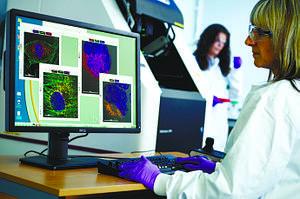 Новый микроскоп высокого разрешения General Electric Health Care DeltaVision Ultra