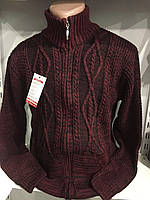 Мужская вязанная кофта L,XL,2XL