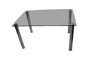 Журнальний кофейний столик зі скла у вітальню СТ-100 Антонік