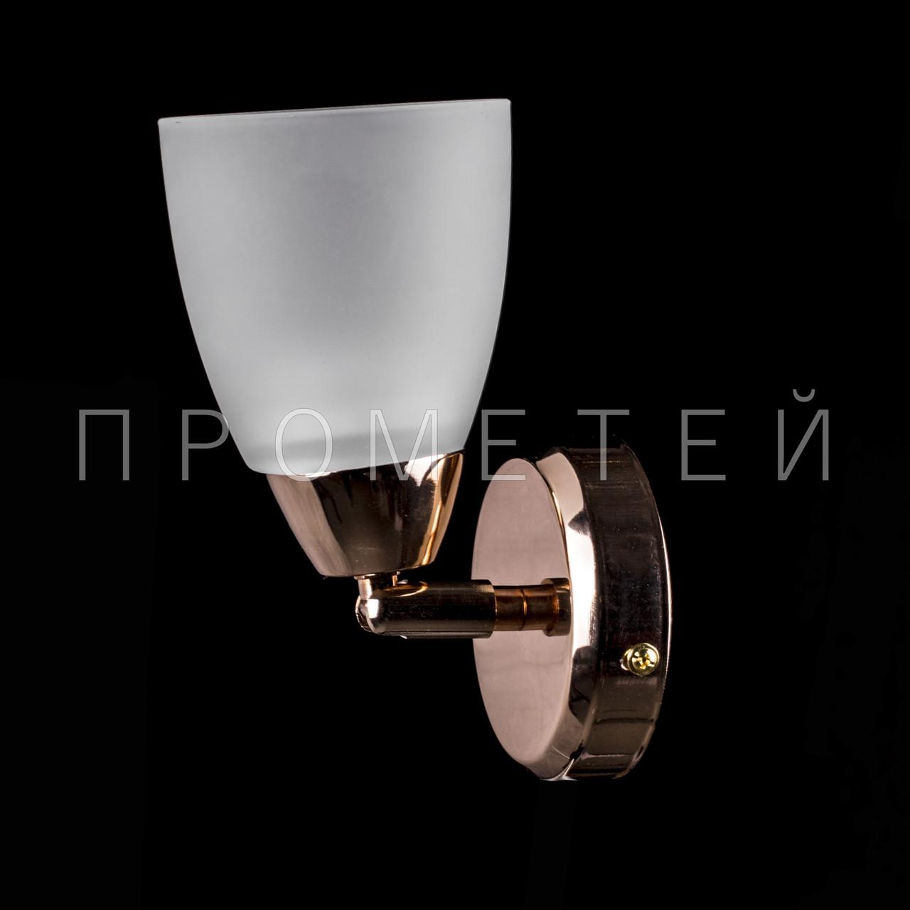 Бра на 1 патрон (золото) P3-01615/1W/FG+WT