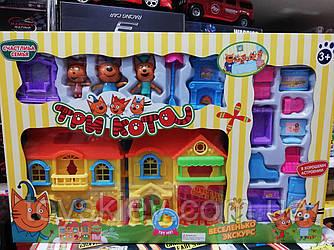 Ігровий набір «Три кота» будиночок PT3012A