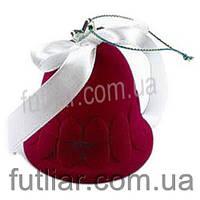 Упаковка новогодняя для кольца или серег колокольчик