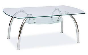 Журнальний кофейний столик зі скла у вітальню Arachne II SIGNAL
