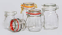 Банка с бугельным замком 900 мл. стеклянная Kilner Jar