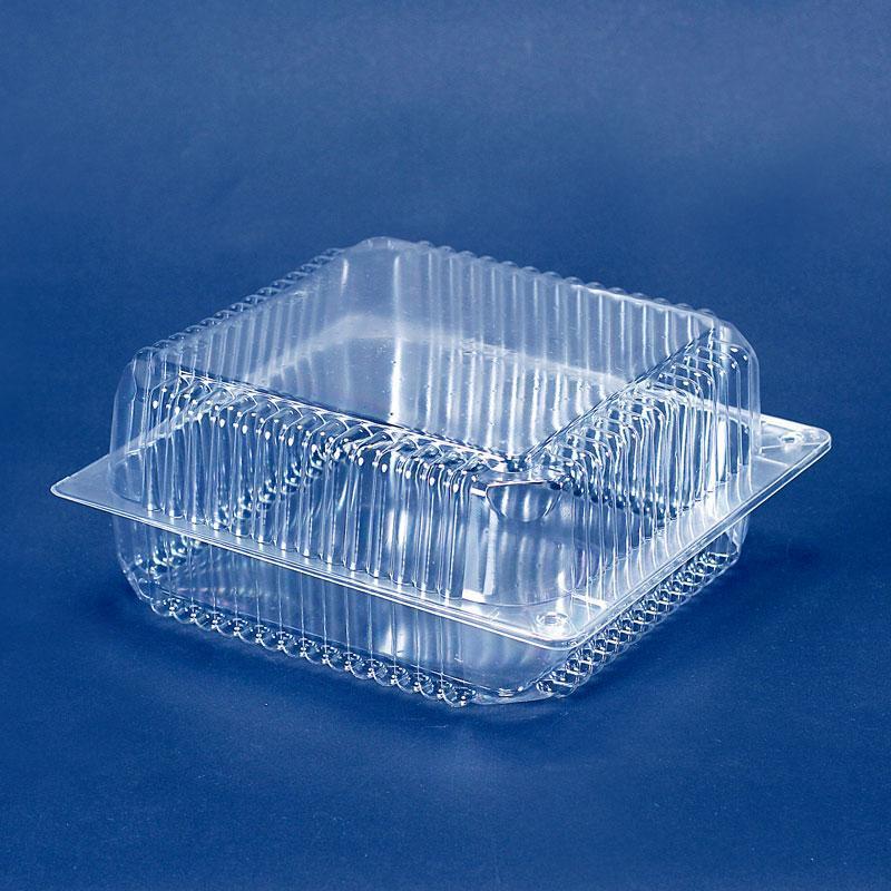 Упаковка блистерная для кондитерских изделий 24х25х11 см., 4300 мл. квадратной формы