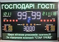 Спортивное табло для гандбола, размер 3000х2000мм