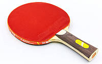Ракетка для настольного тенниса 1 штука в чехле GIANT DRAGON 5*  Offensive (древесина, резина)