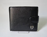 Мужской кожаный кошелек Bense Men черный, фото 1