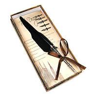 Ручка перьевая Перо черная