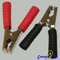 Зажим крокодил (комплект) 500А, медь для фиксации или временного соединения, GAV 646