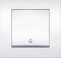 Выключатель кнопочный 1-кл., фото 1