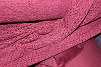 №2. Марсала. Ангора тонкая, люрексовая нить только на дырочках., фото 1