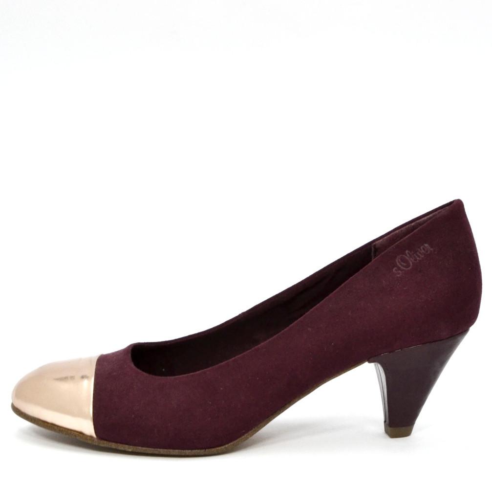 57bab6ef1293 Туфли женские фиолетовые s.Oliver размер 39