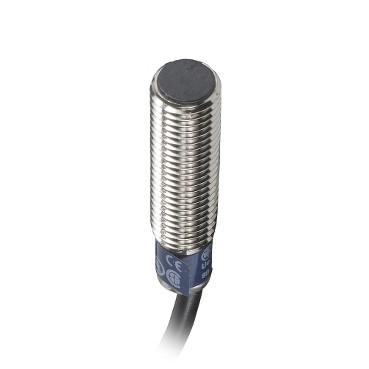 Індуктивний датчик M8 2.5мм NO PNP 24VDC кабель 5м